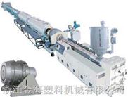 PE、PP、PPR、PE-RT管材生产线
