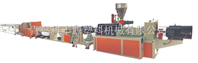 HDPE 硅芯管生产线