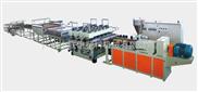 LX-PP PE ABS PA POM厚板、超厚板挤出生产线,塑料厚板生产线,塑料厚板材挤出机