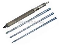 塑料吹膜机螺杆,吹瓶机料筒,塑料射出机双螺杆