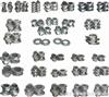 20-95螺杆元件配件